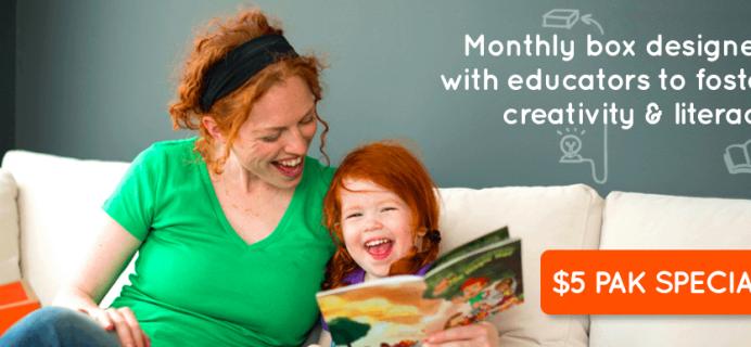 Peekapak Kids Subscription Box- First Box $5!