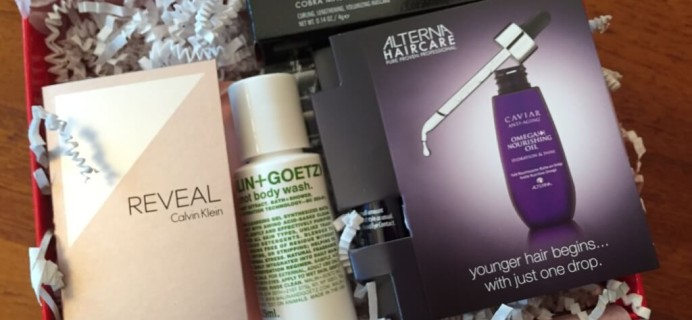 November 2014 Allure Sample Society Beauty Subscription Box Review