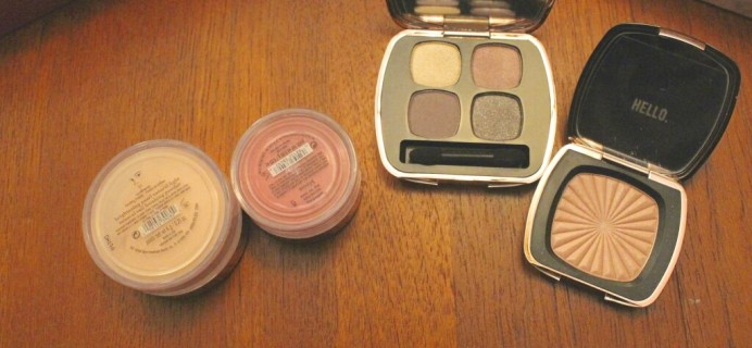 bareMinerals Glamour Now: Color in Bloom Review (2013 TSV Autodelivery)