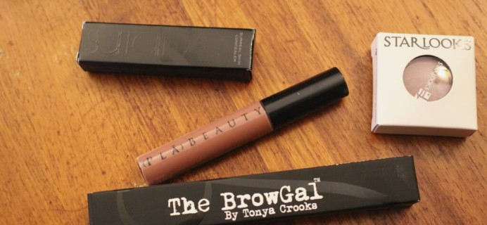 November 2014 Wantable Makeup Subscription Box Review