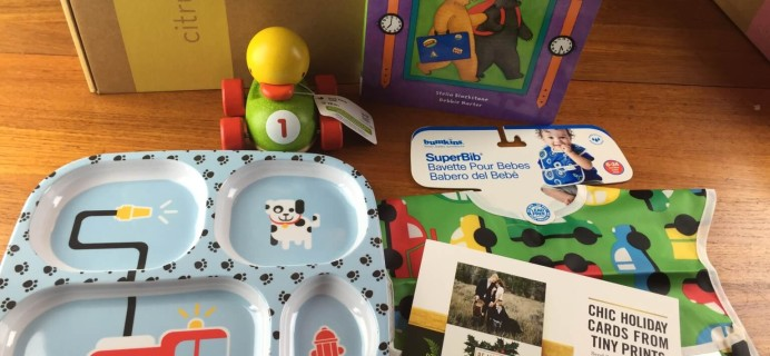 November 2014 Citrus Lane Review & Coupon – 14 Month Boy