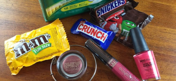 November 2014 SwaagBox Review – Time of the Month Subscription – First Box $5!