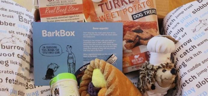 November 2014 Barkbox Review & $10 Coupon