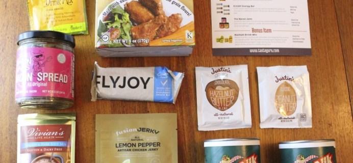 November 2014 Taste Guru Review – Gluten-Free Subscription Box