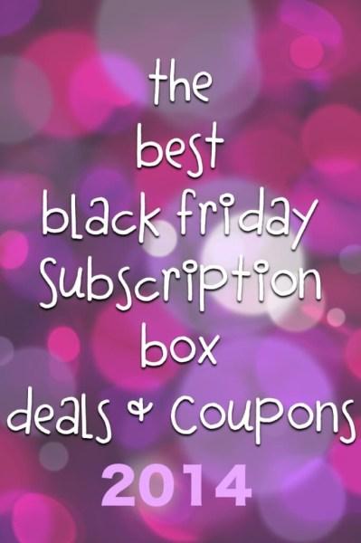 black friday subscription box coupons