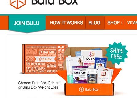 Bulu Box Cyber Monday Coupon & Deal – Health Subscription Box
