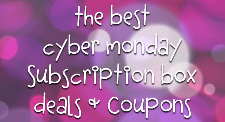 cyber monday subscription box deals