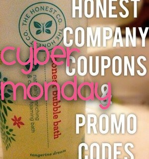 Cyber Monday Honest Company Coupon & Deals