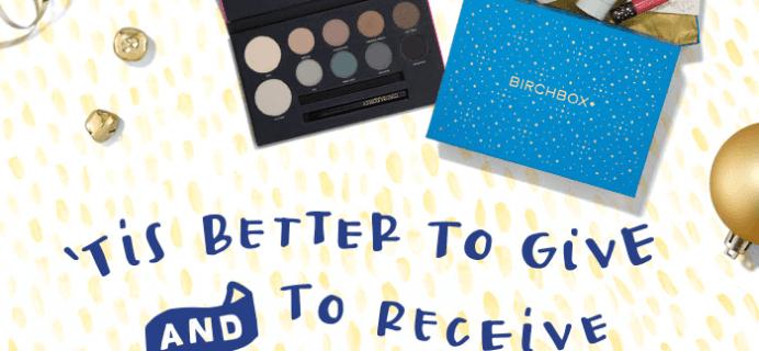 Gift Birchbox, Get a Free Gift!