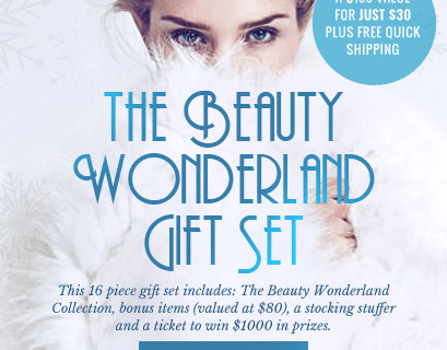Total Beauty Set Beauty Wonderland Cyber Monday Coupon