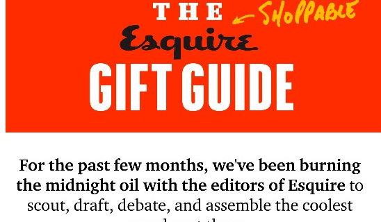 Bespoke Post Esquire Gift Guide Now Open!