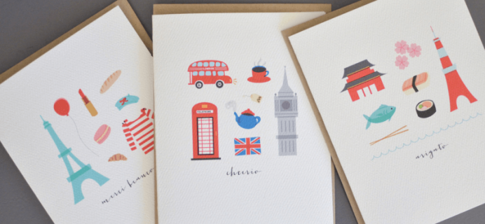 Pennie Post Monthly Stationery Subscription – Free Gift Set with Purchase