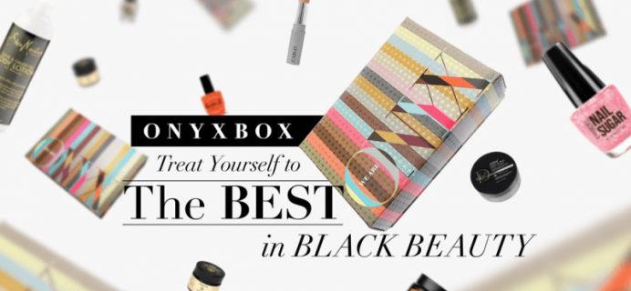 We Are Onyx Subscription Box for Black Women Black Friday & Cyber Monday Coupon!