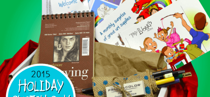 Smile, Create, Repeat Art Subscription Box Black Friday Deal