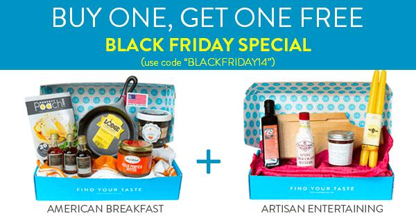 Hamptons Lane Black Friday Coupon – Buy Breakfast Get Holiday Box FREE!