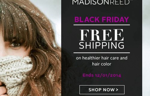 Madison Reed Cyber Monday Coupon + Blonde for the Holidays??