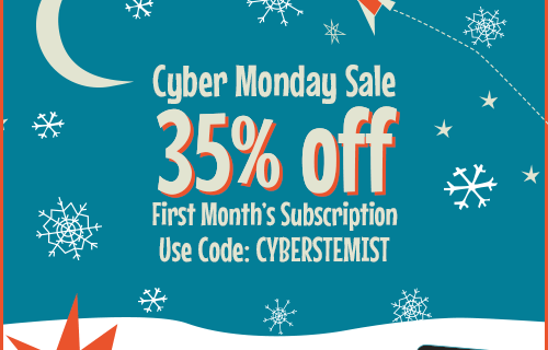 Cyber Monday Subscription Box Coupon – Groovy Lab in A Box