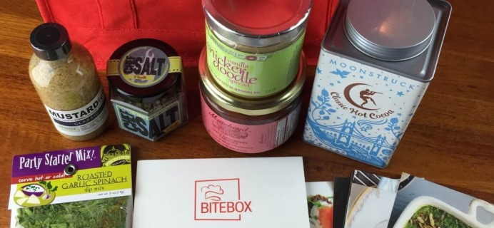 November 2014 The Pantry Gourmet's Bite Box – Food Subscription Box Review