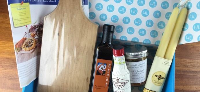 December 2014 Hamptons Lane Subscription Box Review & Coupon