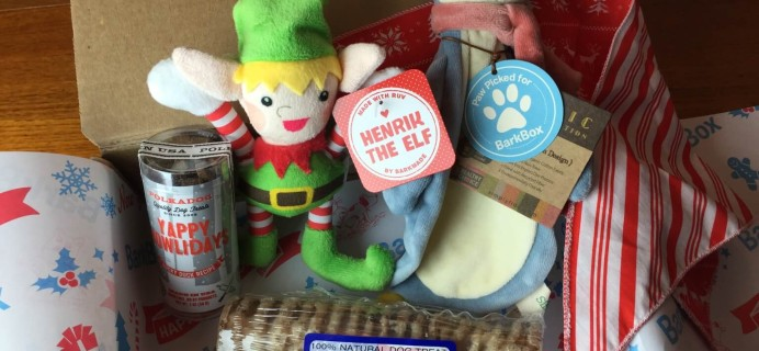 December 2014 Barkbox Review & $10 Coupon