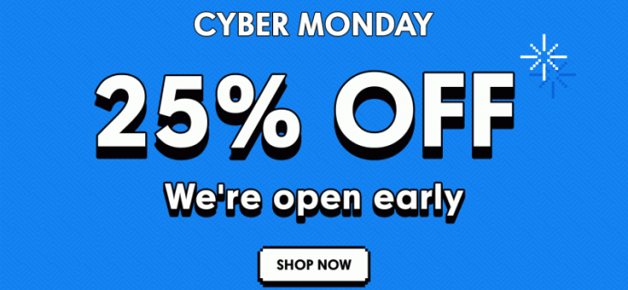 Fancy Cyber Monday Coupon! Great Subscription Box Deal!