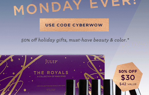 Julep Cyber Monday Coupon – HALF OFF! Crazy Deal!