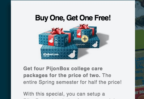 Last Minute Cyber Monday Subscription Box Coupon – PijonBox!