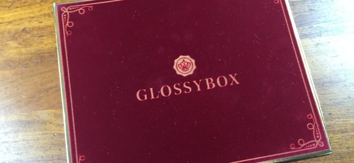 2014 GLOSSYBOX Limited Edition Holiday Box Review