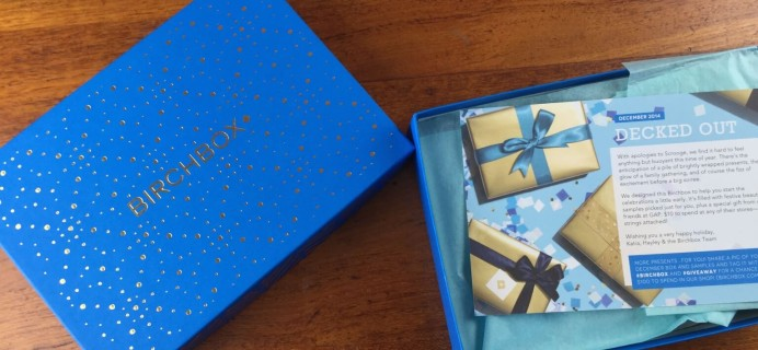 December 2014 Birchbox #2 Review + Coupons