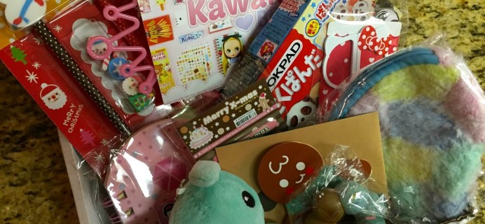 December 2014 Kawaii Box Review