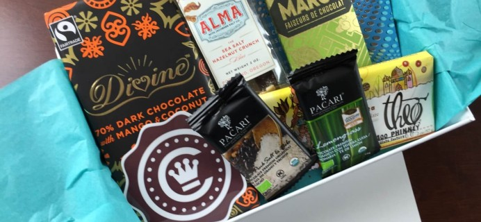 Chococurb Review – January 2015 – New Chocolate Subscription Box!