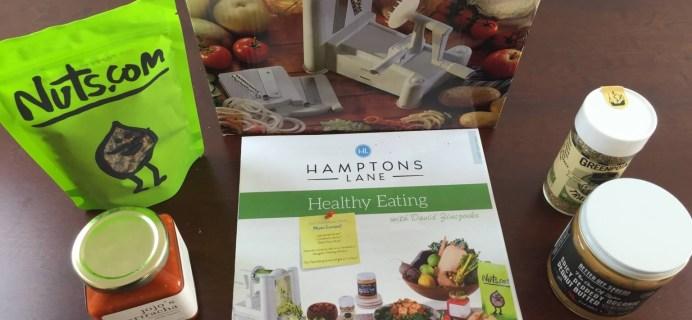 January 2015 Hamptons Lane Healthy Eating Box Review & $10 Coupon