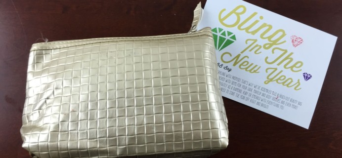 January 2015 Beauteque BB Bag Review
