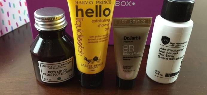 January 2015 Birchbox Review + Coupon Code