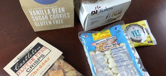 Cuisine Cube Gluten-Free Subscription Box Review – Holiday 2014