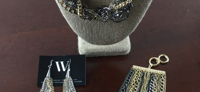 January 2015 Wantable Accessories & Jewelry Subscription Box Review #2