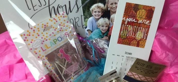 Happy Mommy Box Mini Review – January 2014