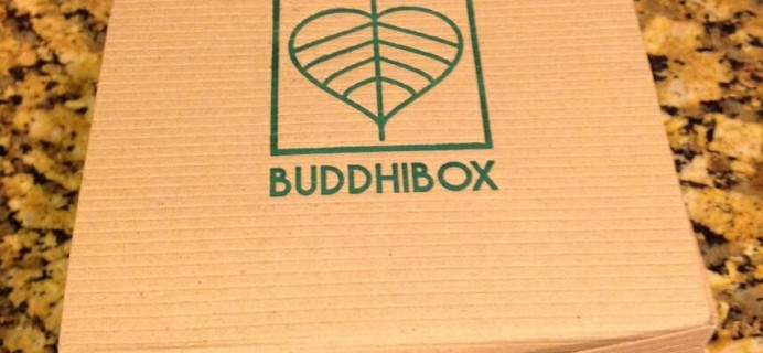 January 2015 BuddhiBox Review + Coupon – Yoga Subscription Box