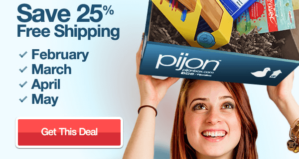 New PijonBox Coupon – 25% Off!