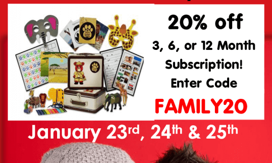Space Scouts and Animal Trackers 20% Off Coupon!