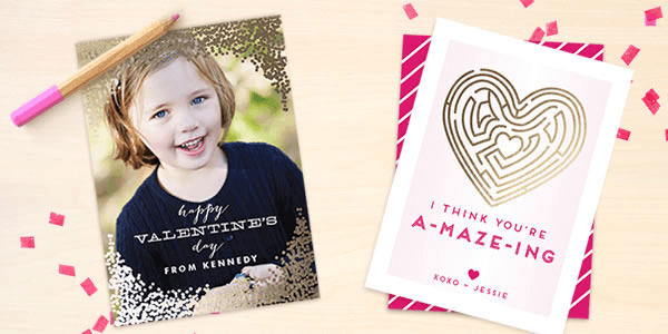 Foil all the things at Minted! 20% off!