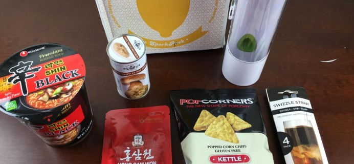 January 2015 Spork Pack Review + Coupon – Food & Kitchen Gadgets Subscription Box
