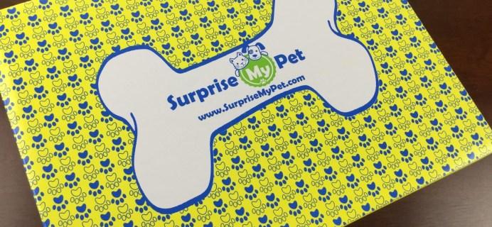 Surprise My Pet Launch Box Review – New Pet Subscription Box
