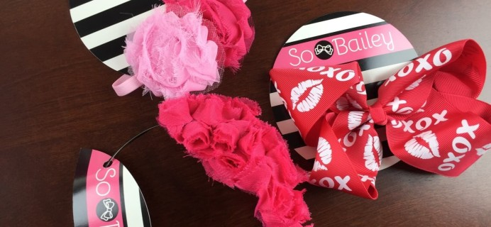 So Bailey Review – Girls Hair Accessories Subscription Box