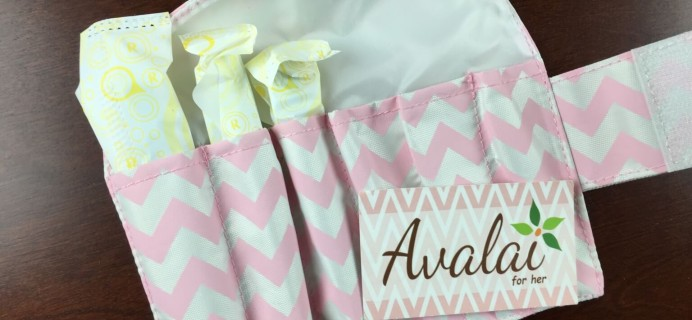 Avalai Time of the Month Period Box Review & Coupon – February 2015