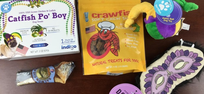 Barkbox Dog Subscription Box Review + Coupon – February 2015
