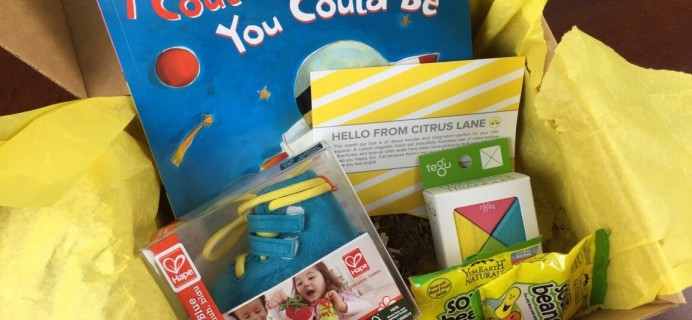 February 2015 Citrus Lane Review & Coupon – 4 Year Old Boy