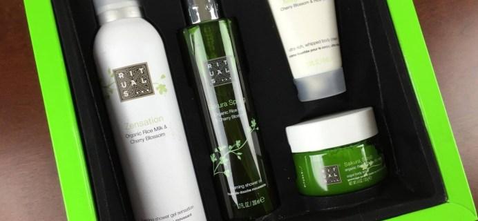 Rituals Cosmetics Gift Boxes Available – Sakura Rituals Set Review