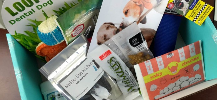 February 2015 PawPack Pet Subscription Box Review & Coupon – Dog