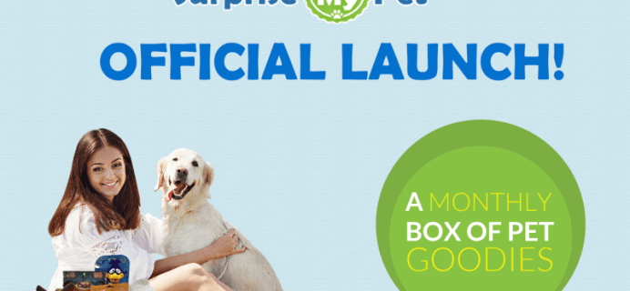 Surprise My Pet Subscription Box Launch Coupon – $5 Off for 48 Hours